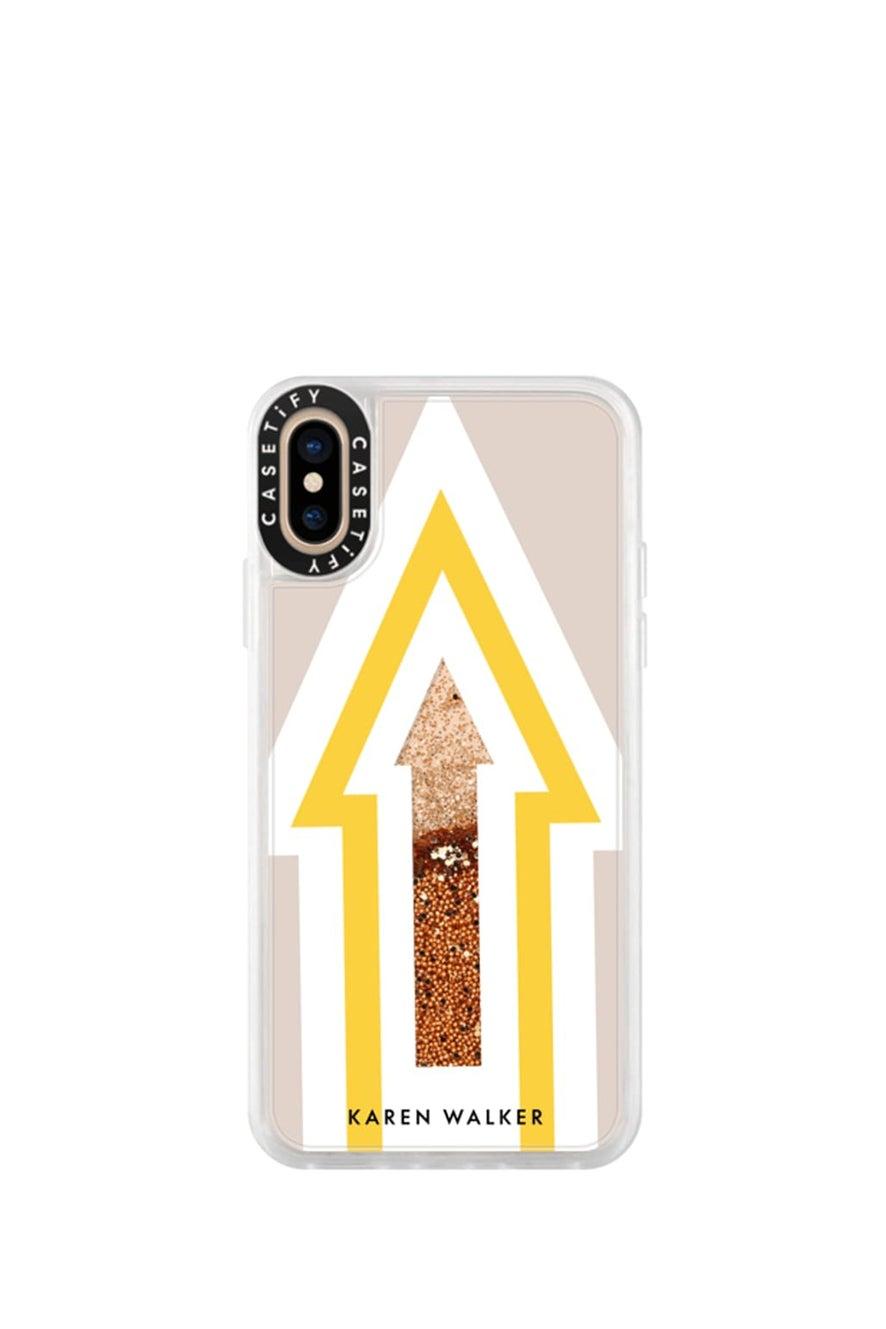Arrow iPhone Case Yellow