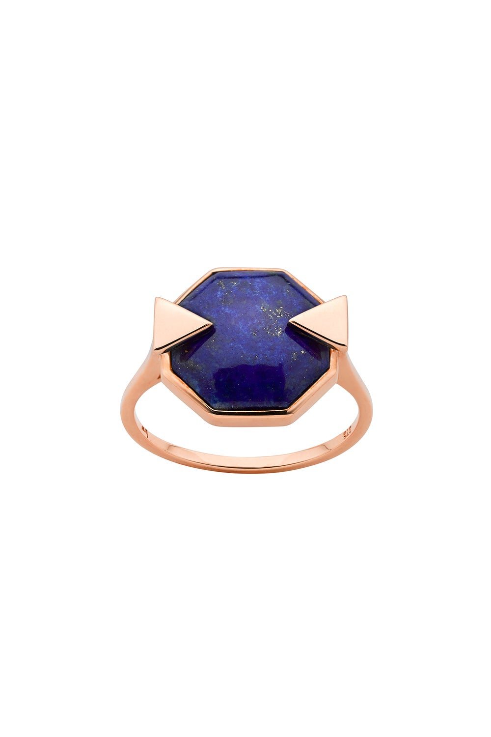Astro Ring Lapis Rose Gold