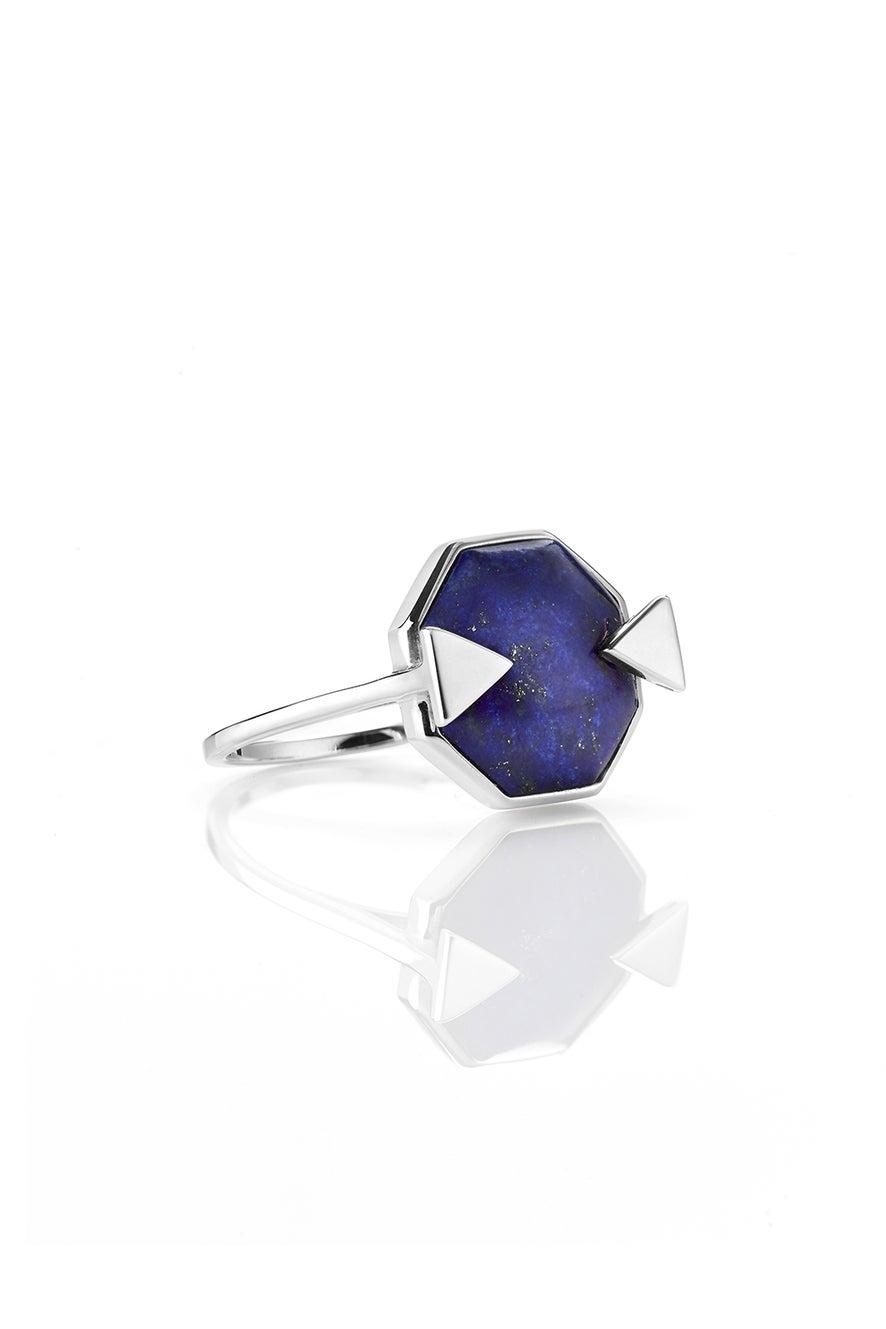Astro Ring Lapis Silver