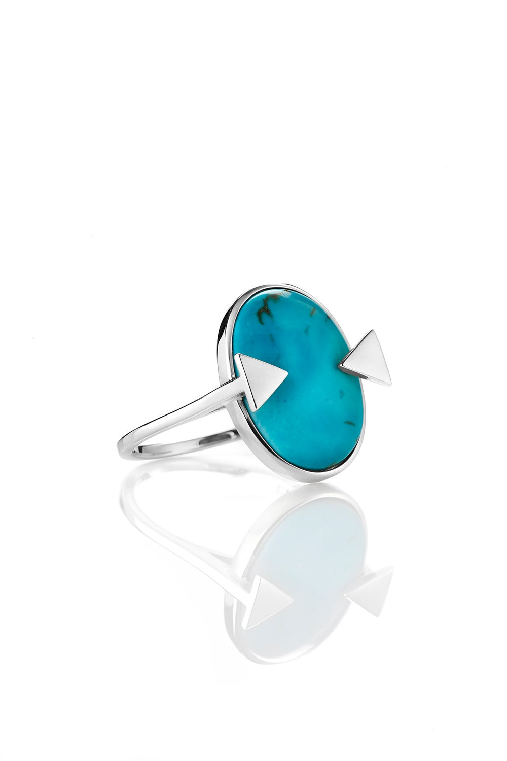 Aurora Ring Turquoise Silver