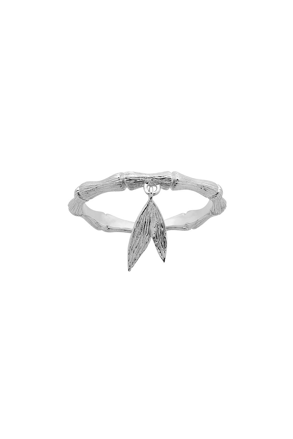 Bamboo Ring Sterling Silver