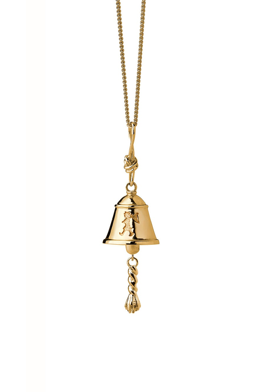 Bell Necklace Gold