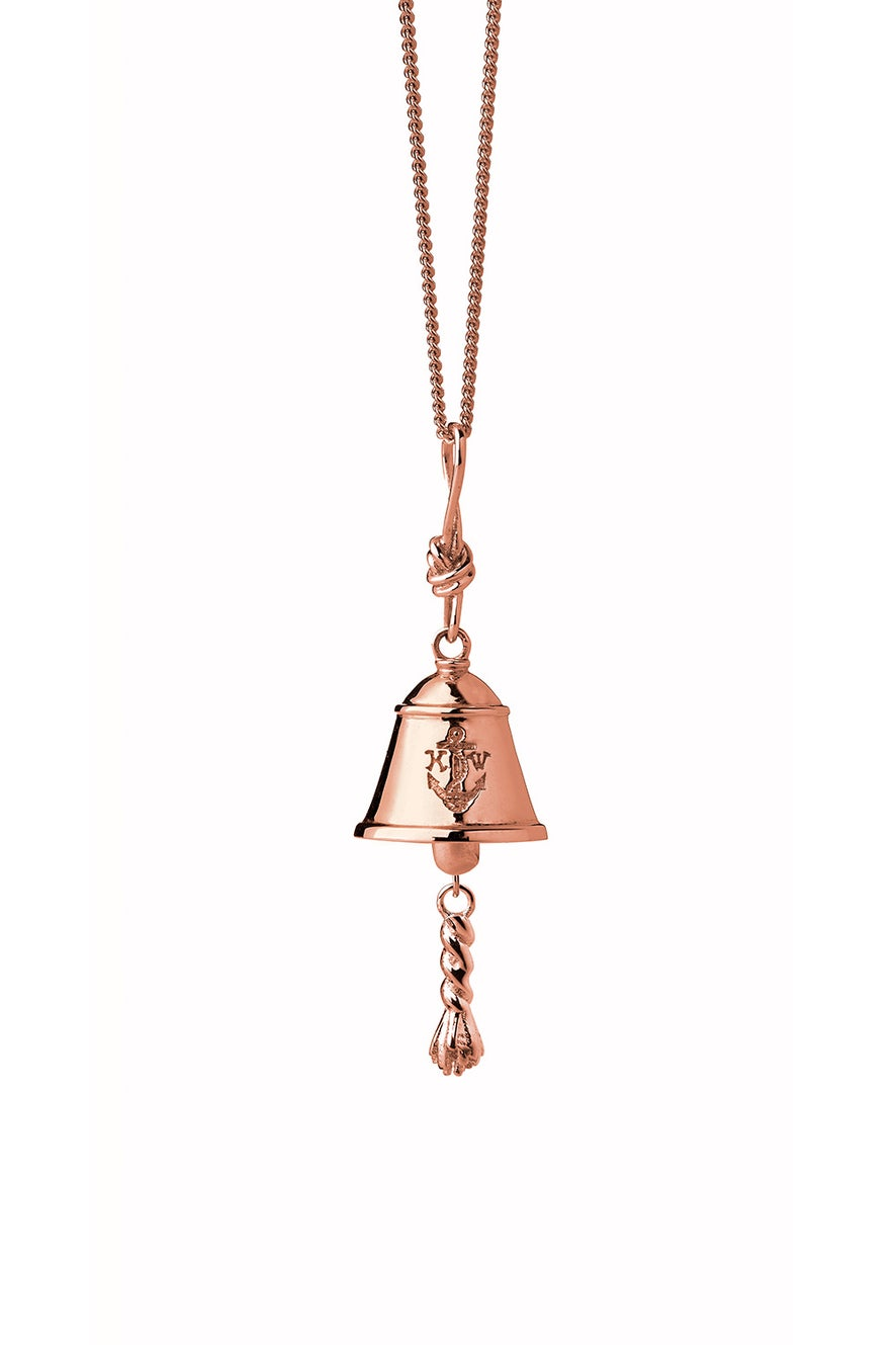 Bell Necklace Rose Gold