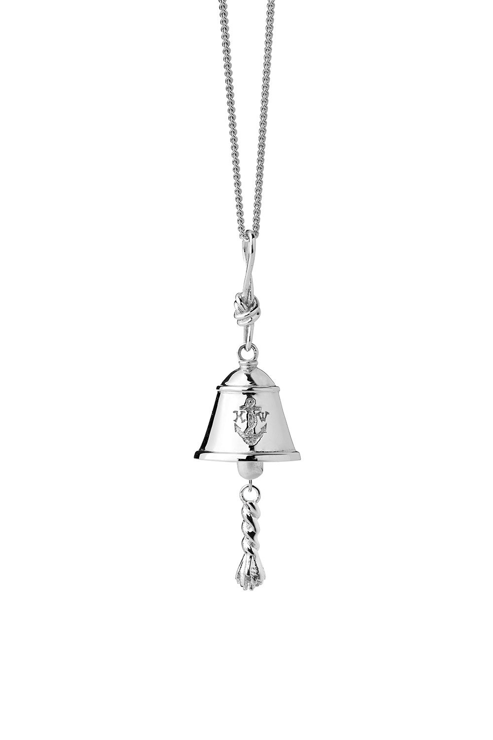 Bell Necklace Silver