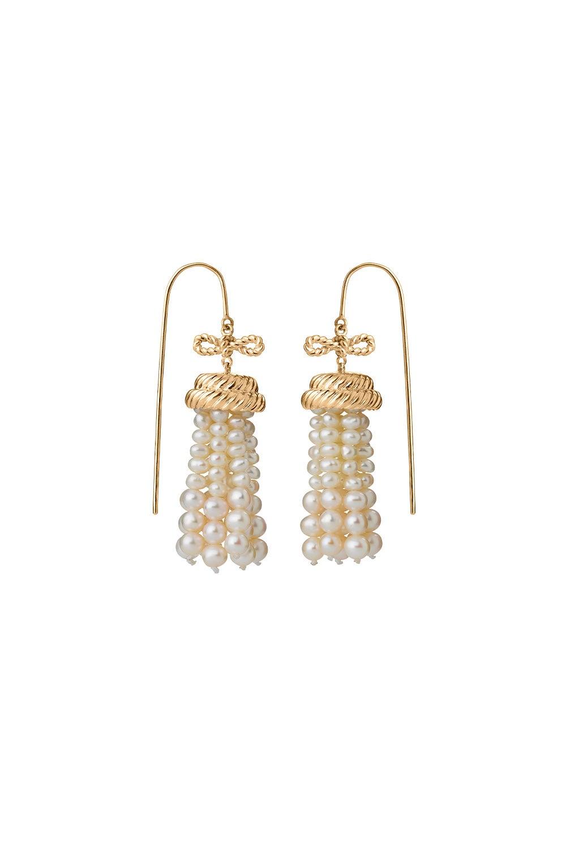 Binding Love Earrings Gold-Plated