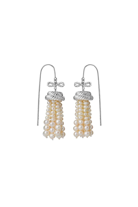 Binding Love Earrings Sterling Silver