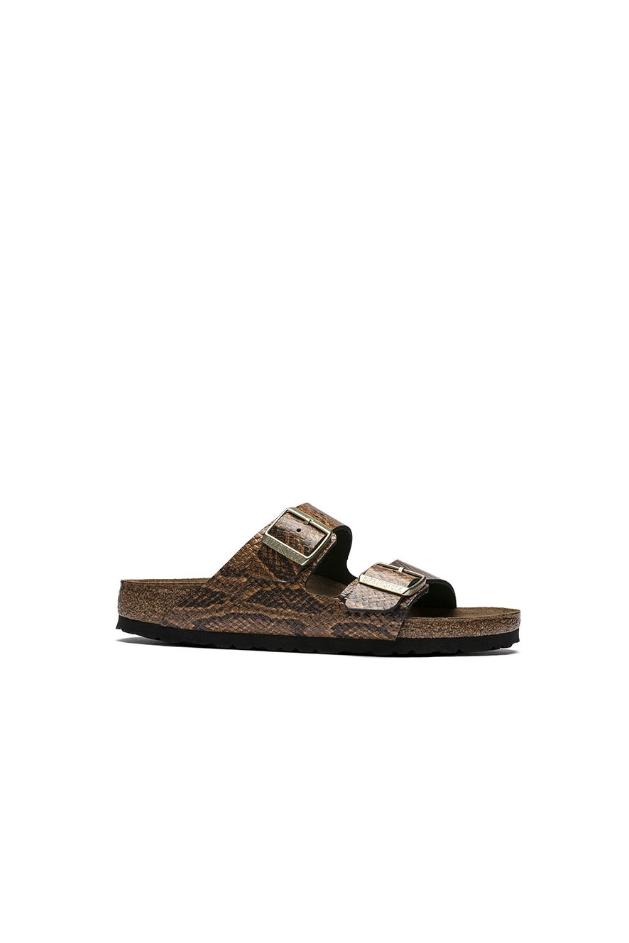 Birkenstock Arizona Snake Narrow Fit Snake Brown