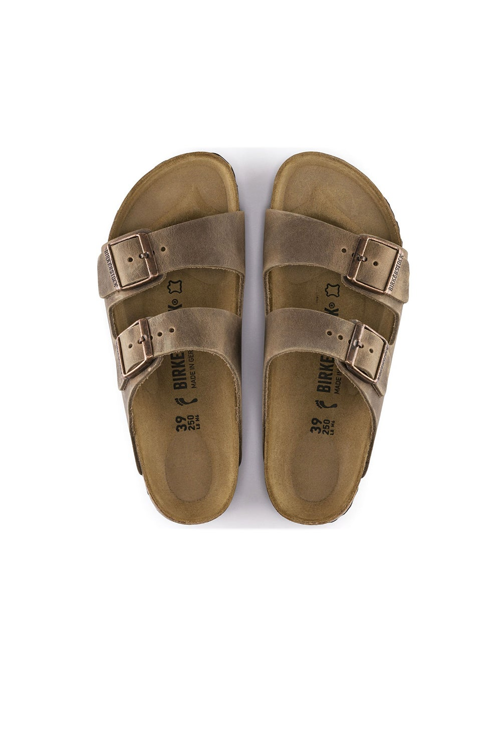 Birkenstock Arizona Oiled Leather Tabacco