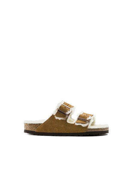 Birkenstock Arizona Regular Fit Shearling Mink