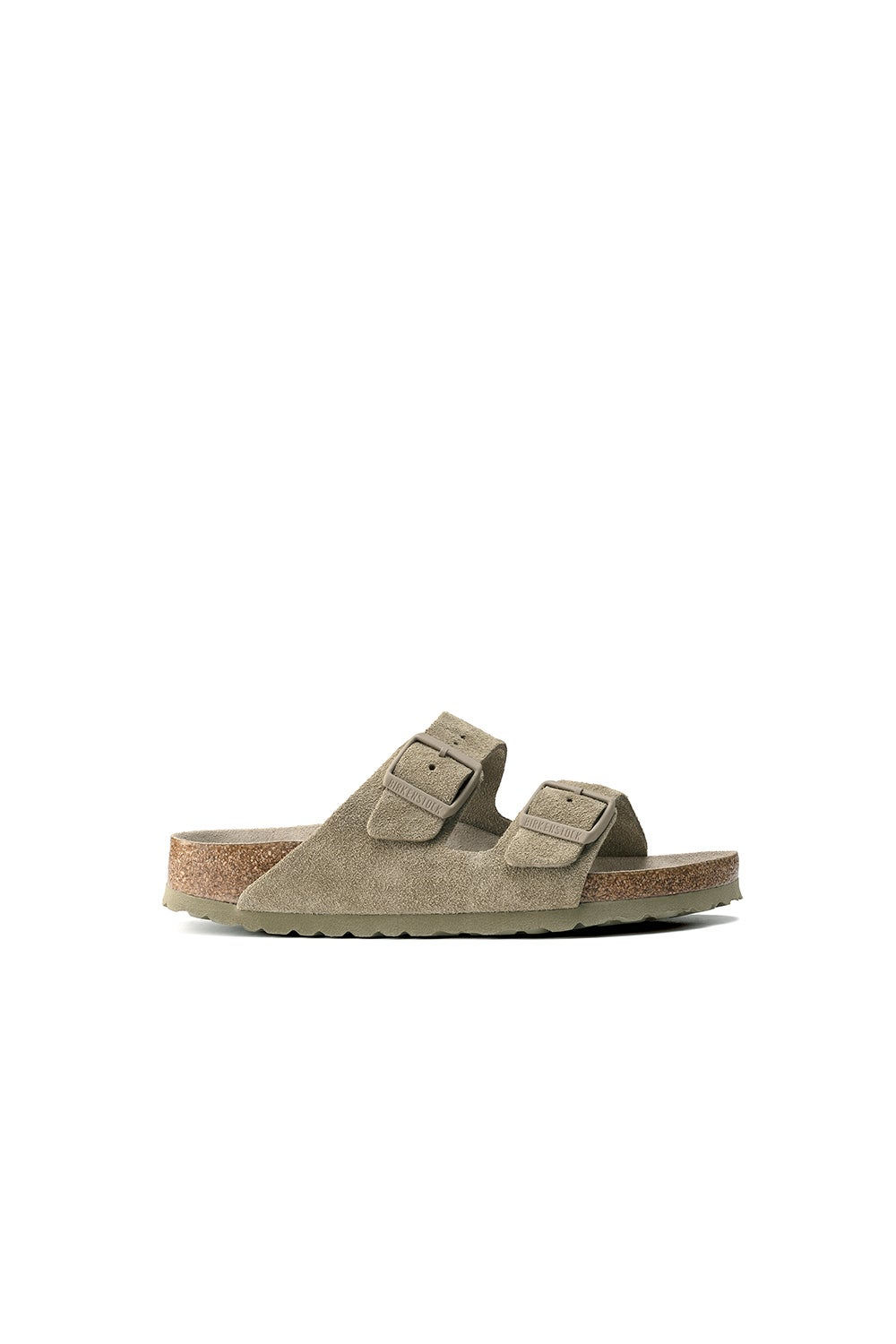 Birkenstock Arizona SFB Suede Faded Khaki