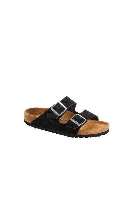 Birkenstock Arizona Soft Nubuck Narrow Fit Black