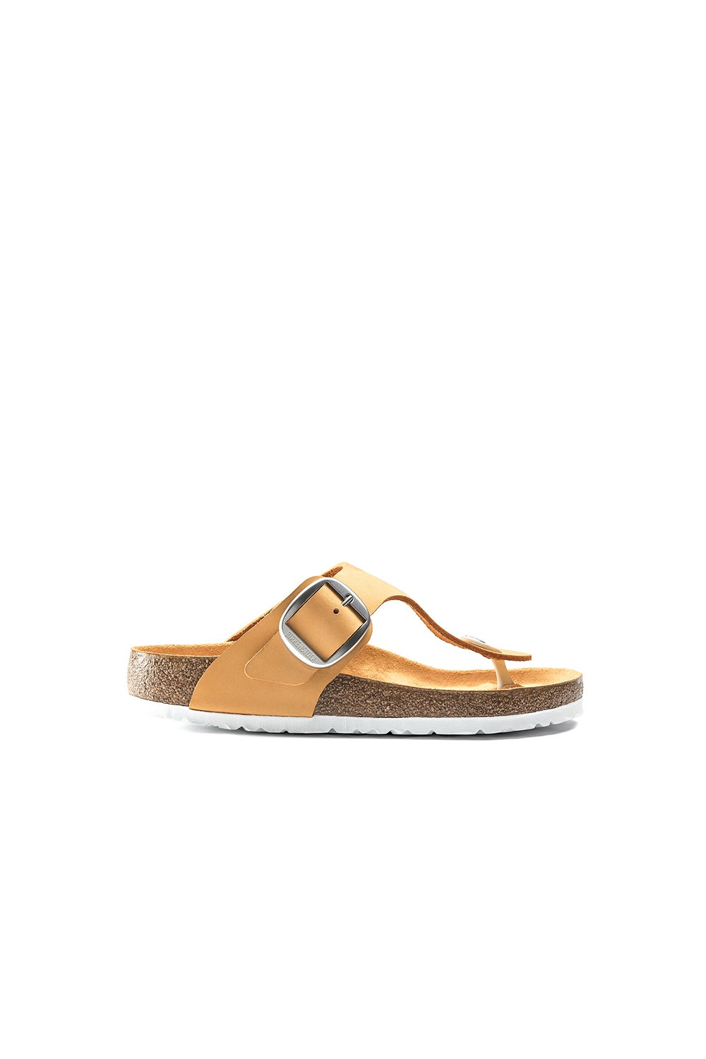 Birkenstock Gizeh Big Buckle Nubuck Regular Fit Apricot
