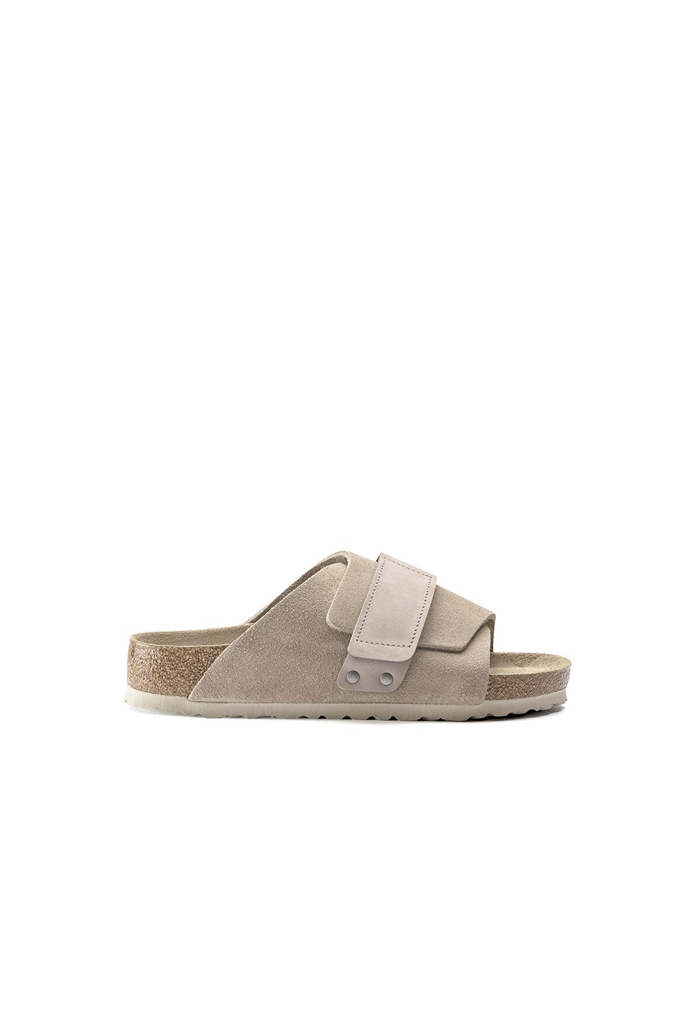 Birkenstock Kyoto SFB Suede/Leather Grey Taupe