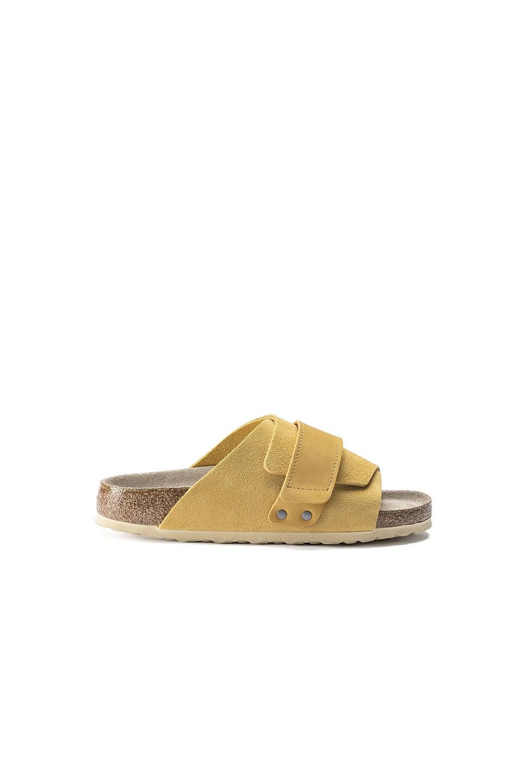 Birkenstock Kyoto SFB Suede/Leather Ochre