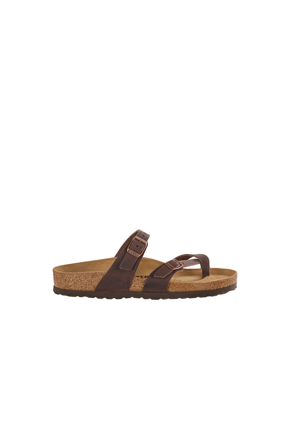 Birkenstock Mayari Oiled Leather Regular Fit Habana