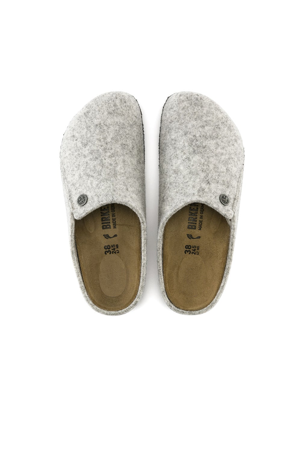 Birkenstock Zermatt Narrow Fit Light Grey
