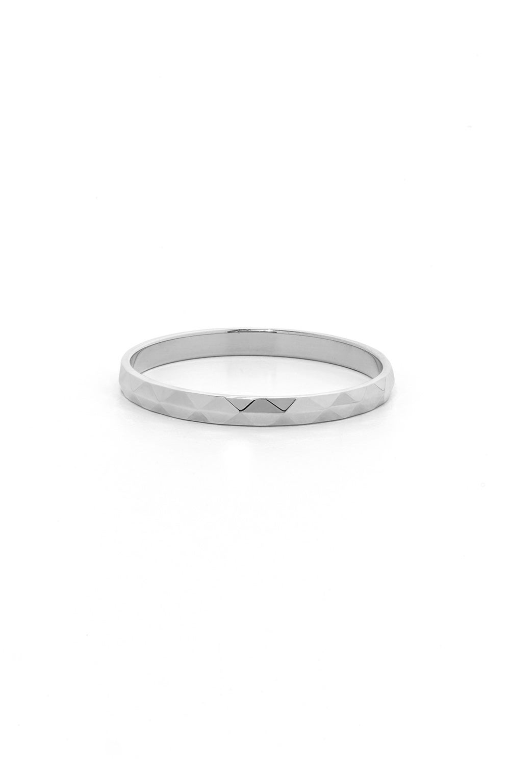 Bliss Band White Gold