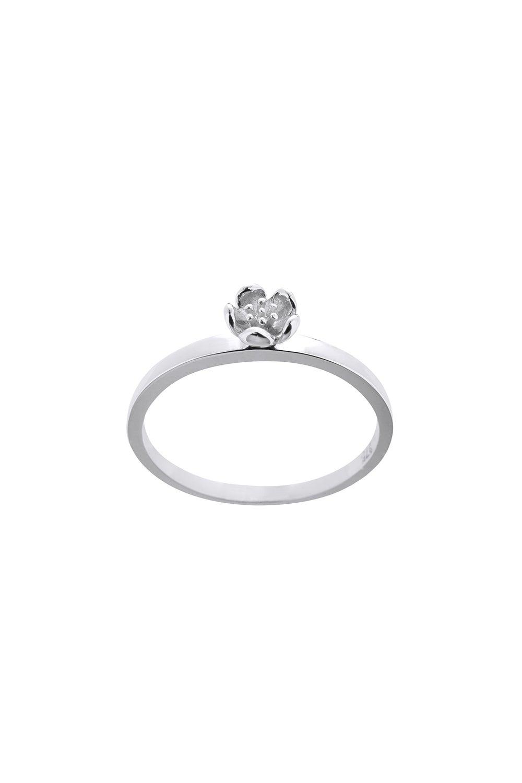 Botanical Plain Ring Silver