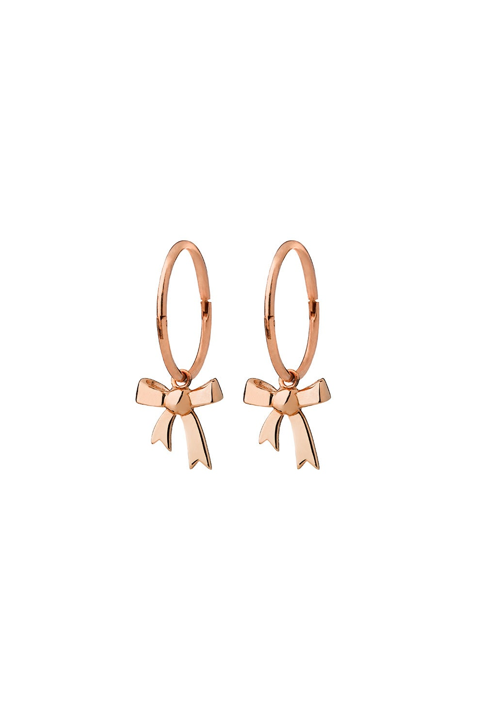 Bow Sleepers Rose Gold