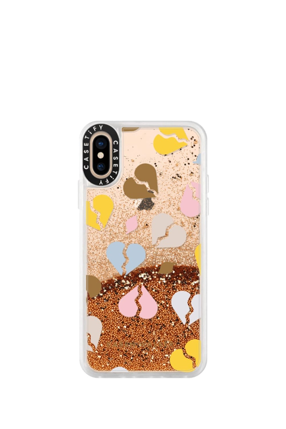 Broken Hearts iPhone Case Multicolour