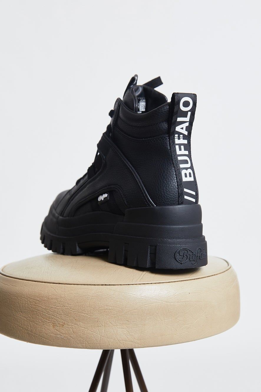 Buffalo Aspha NC Mid Vegan Boot Black