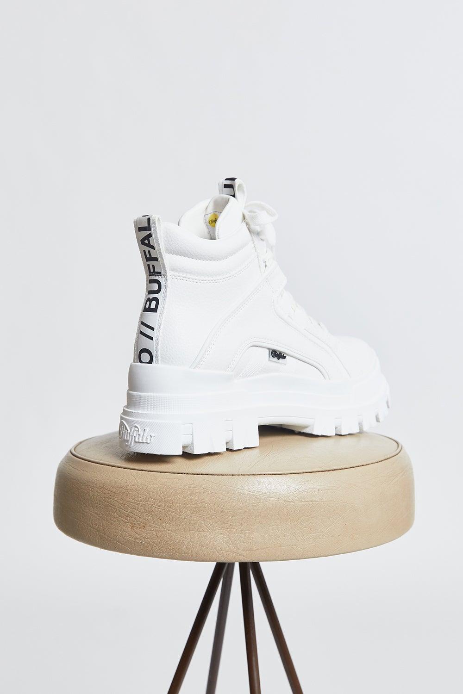 Buffalo Aspha NC Mid Vegan Boot White