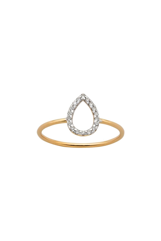 Capsule Diamond Ring, 9ct Gold, .12ct Diamond