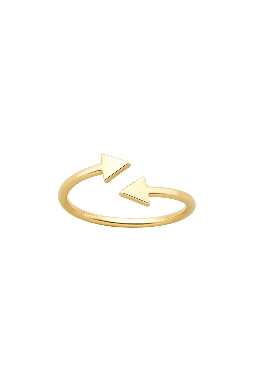 Celestial Arrows Ring Gold