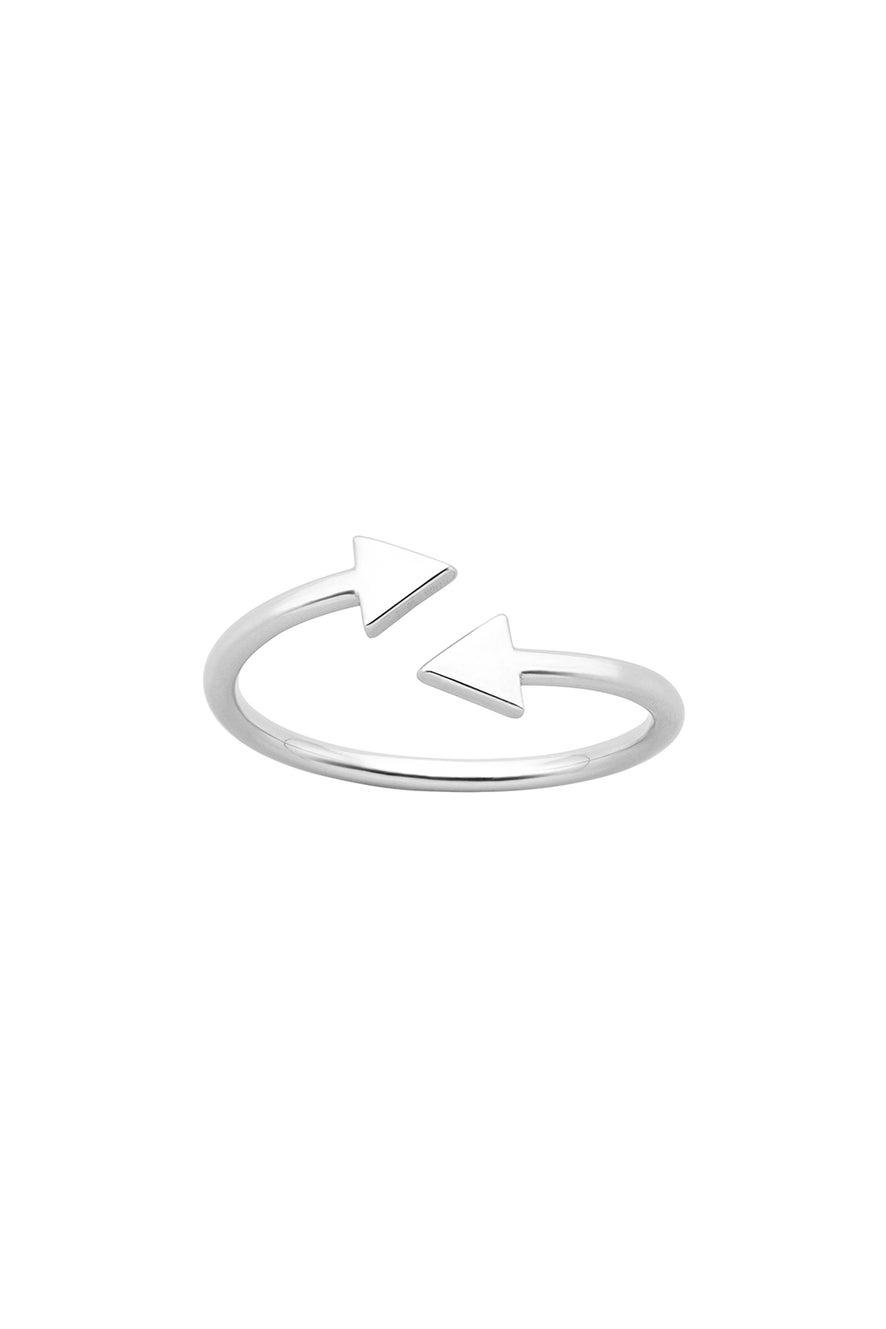 Celestial Arrows Ring Silver
