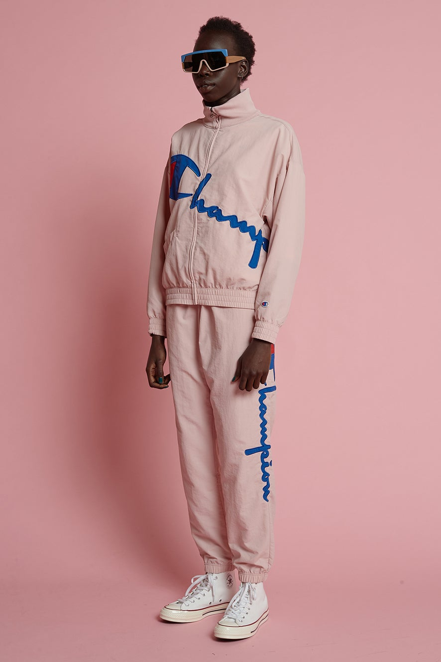 Champion Peached Track Pant Pale Pink