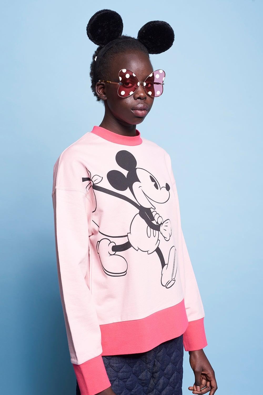 Classic Mickey Oversized Sweatshirt
