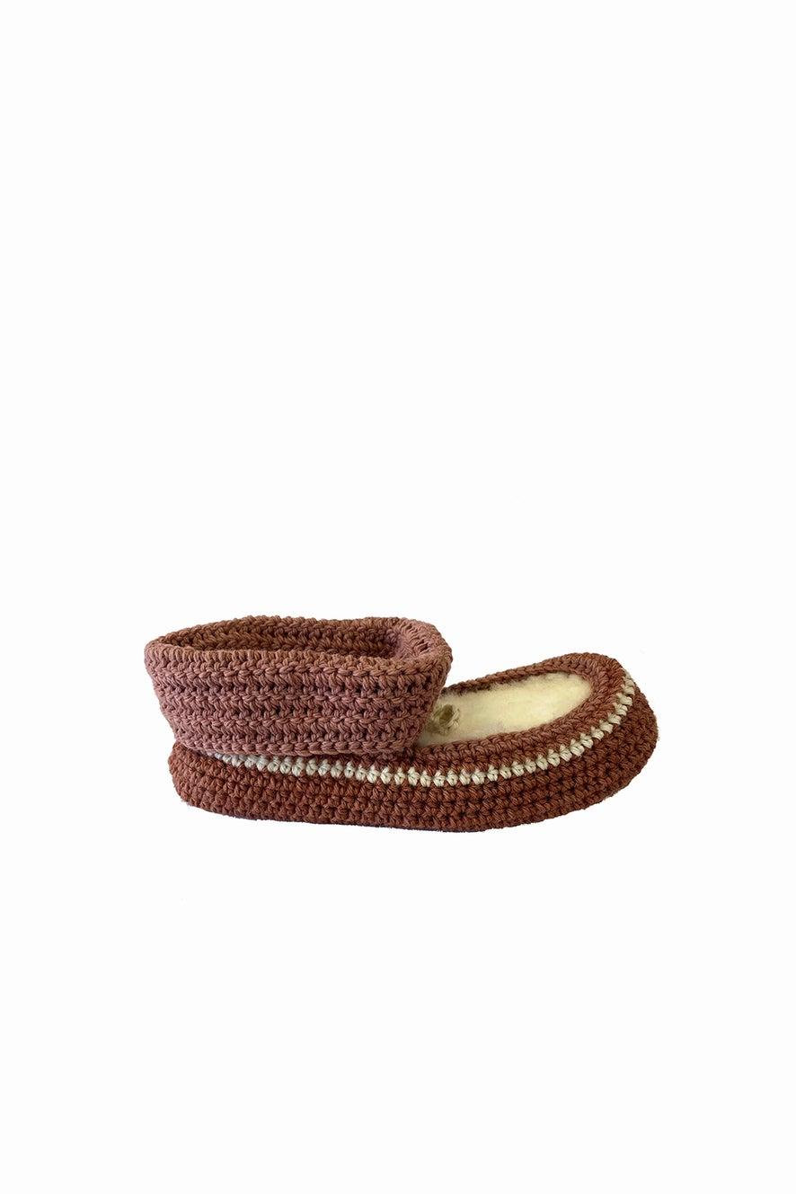 Classic New Zealand x Karen Walker Crochet Slipper