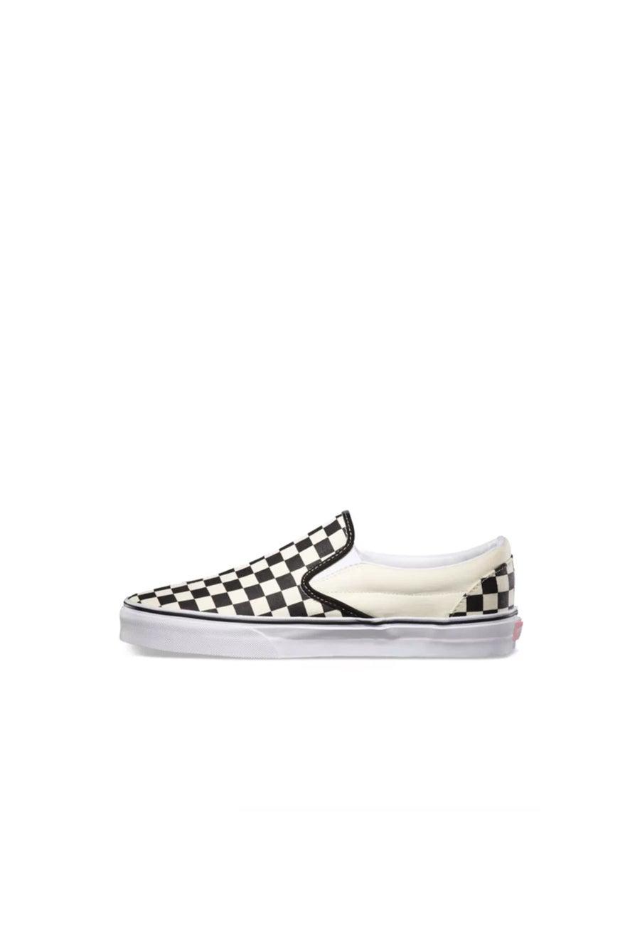 Vans Classic Slip On Black and White Checker