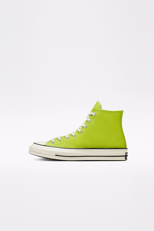 Converse Chuck 70 Recycled Canvas Seasonal Colour High Top Lime Twist