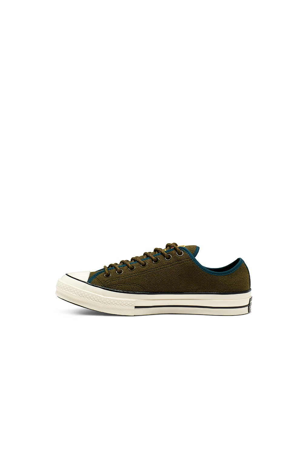Converse Chuck Taylor 70 Low Archival Terry Surplus Olive/Midnight Turq/Egret