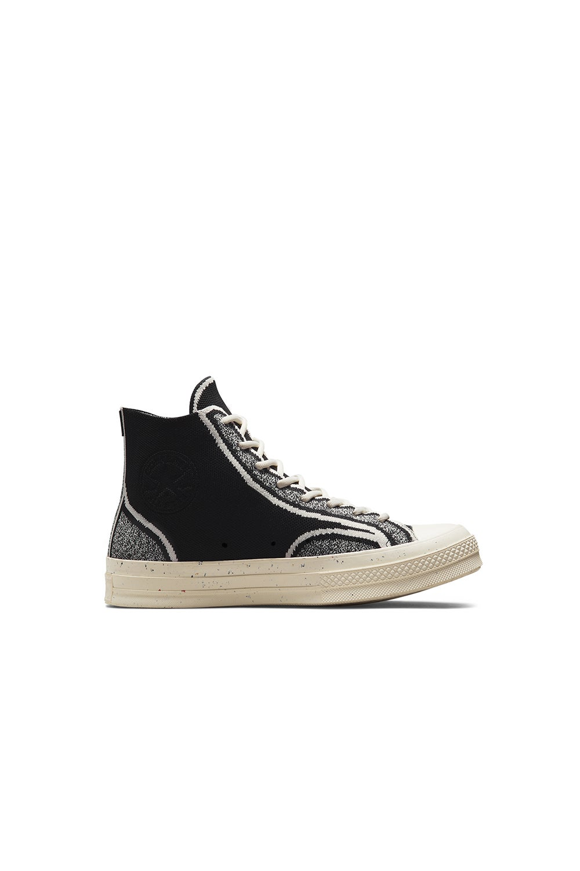 Converse Chuck 70 Renew Knit High Top Black