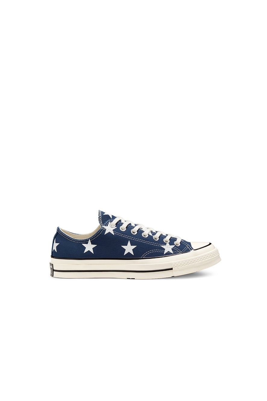 Converse Chuck Taylor All Star 70 Archive Print Low Navy