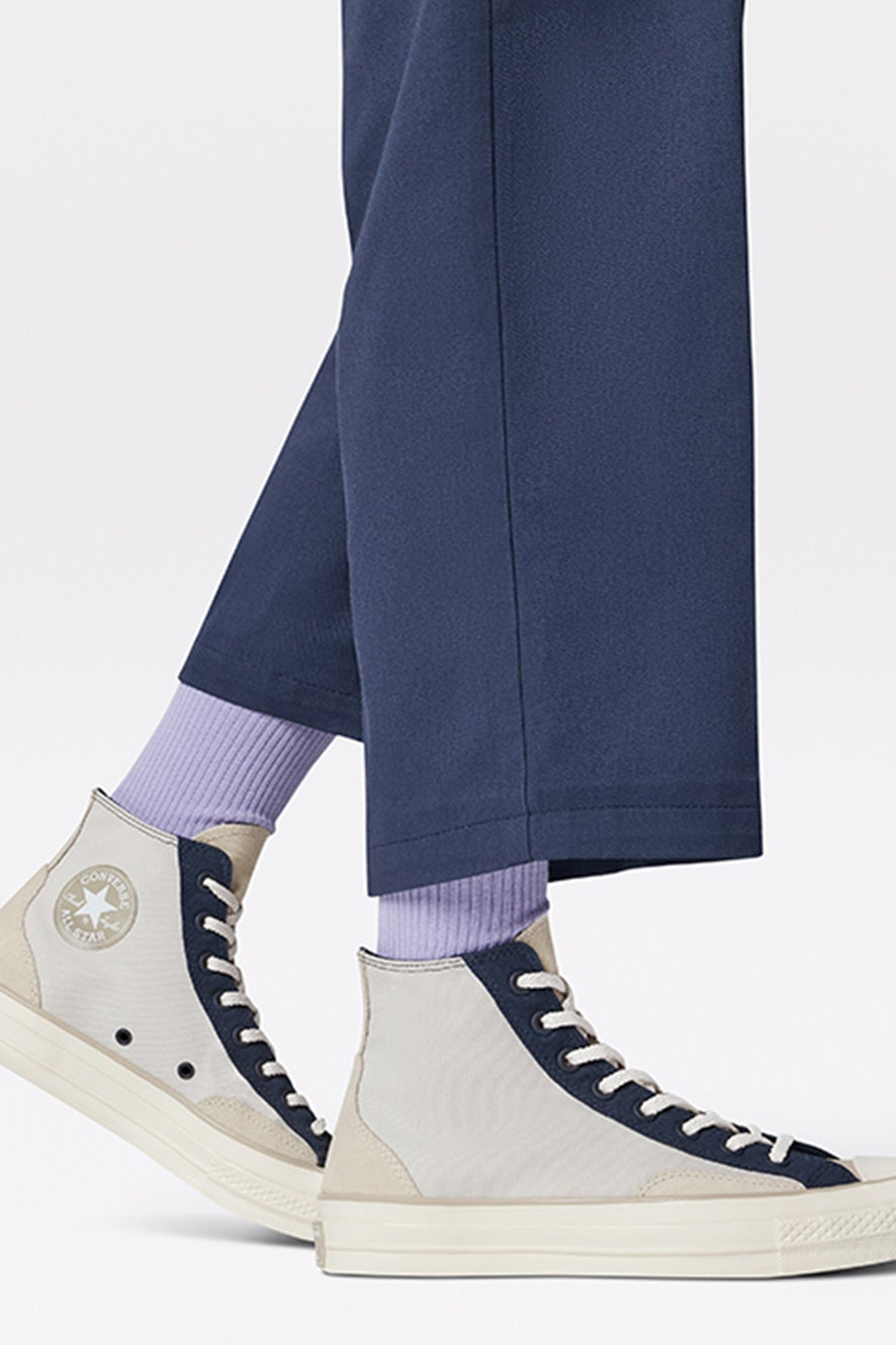 Converse Chuck 70 Court Fusion High Top Pale Putty