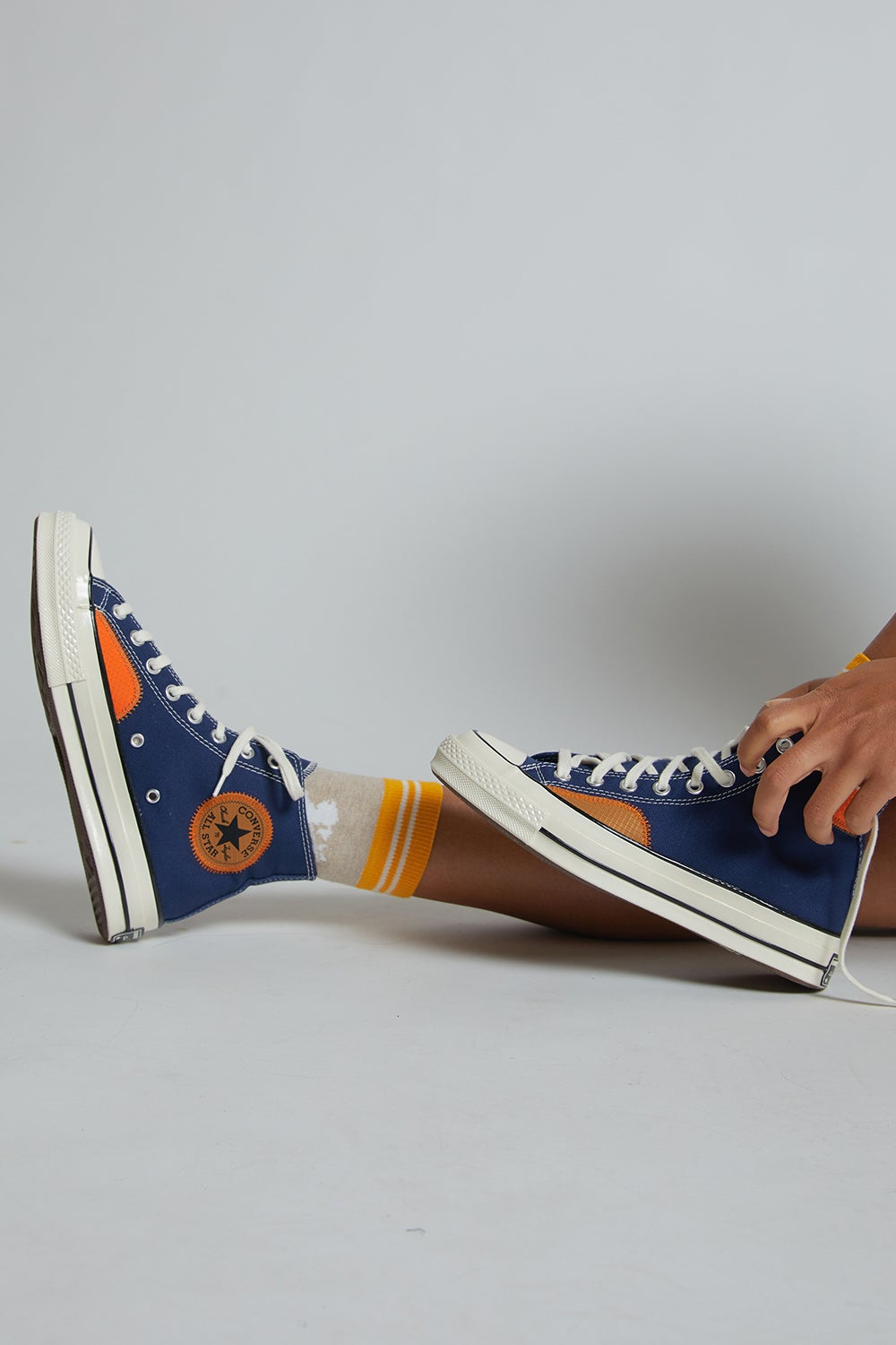 Converse Chuck Taylor All Star 70 Ripstop Hi Top Midnight Navy