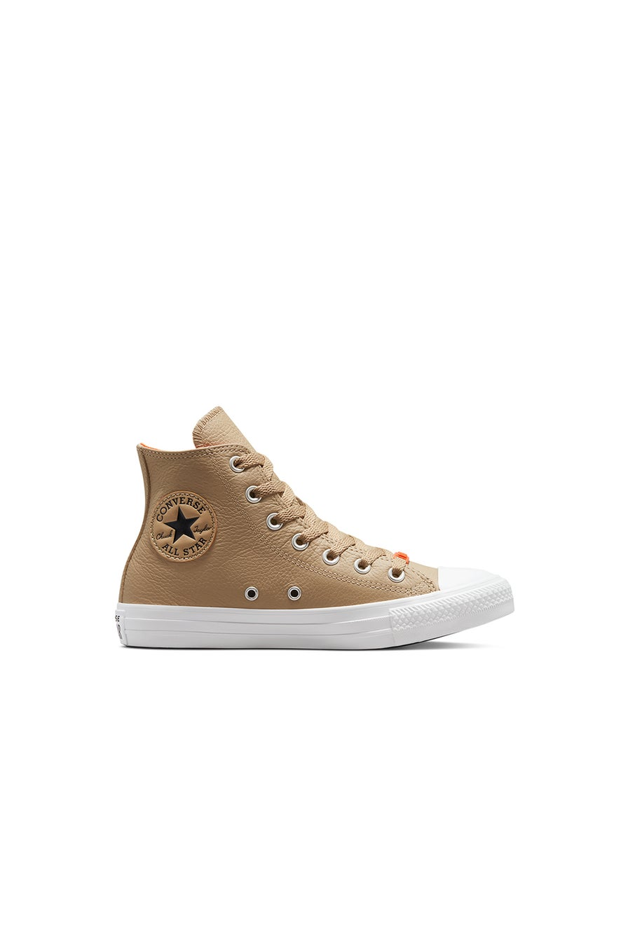 Converse Chuck Taylor All Star Leather HD Fusion High Top Nomad Khaki