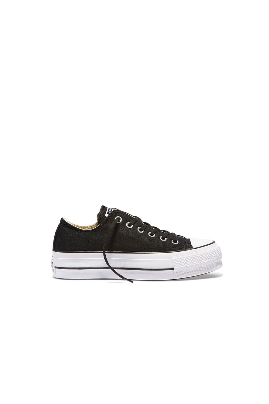 Converse Chuck Taylor All Star Lift Low Black/Garnet/White