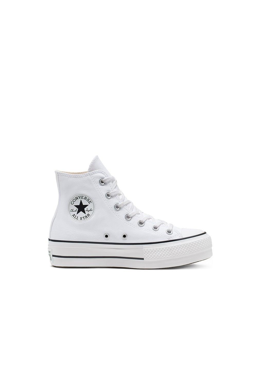 Converse Chuck Taylor All Star Lift Canvas High Top White/Black/White