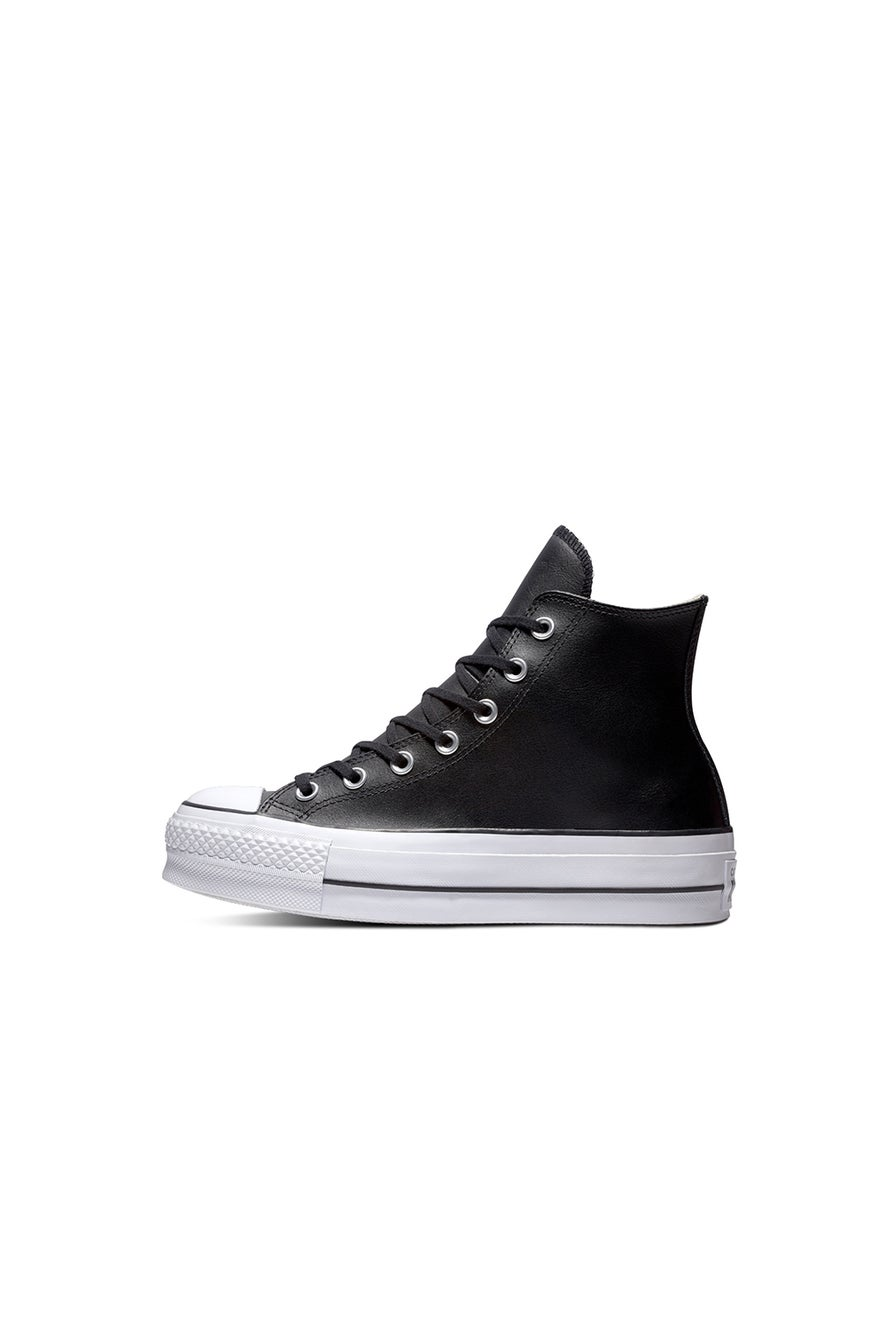 Converse Chuck Taylor All Star Lift Clean Leather High Top Black