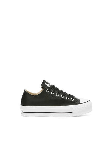 Converse Chuck Taylor All Star Lift Clean Leather Low Top Black