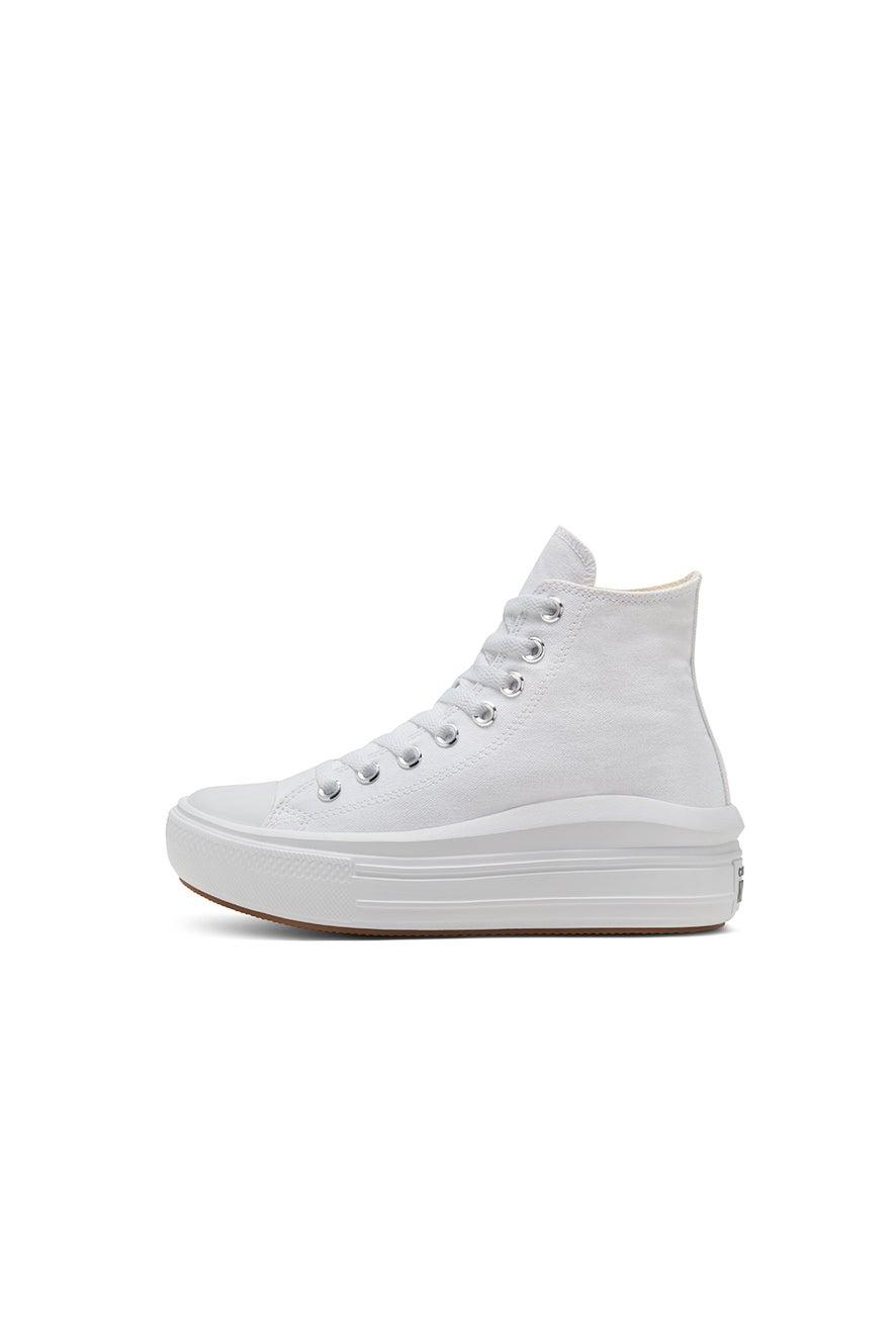 Converse Chuck Taylor All Star Move Platform High Top White