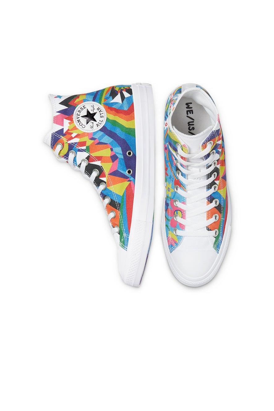 Converse Chuck Taylor All Star Pride High Top White
