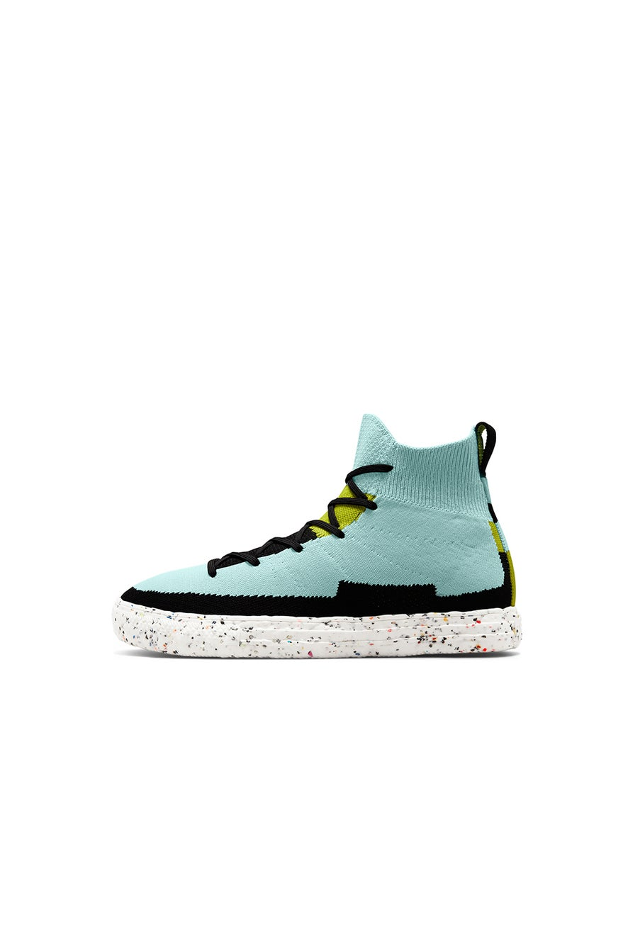 Converse Chuck Taylor All Star Renew Crater Knit High Top Soft Aloe