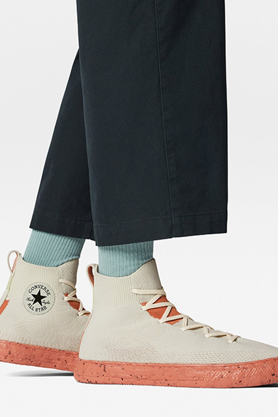 Converse Chuck Taylor All Star Renew Crater Knit High Egret
