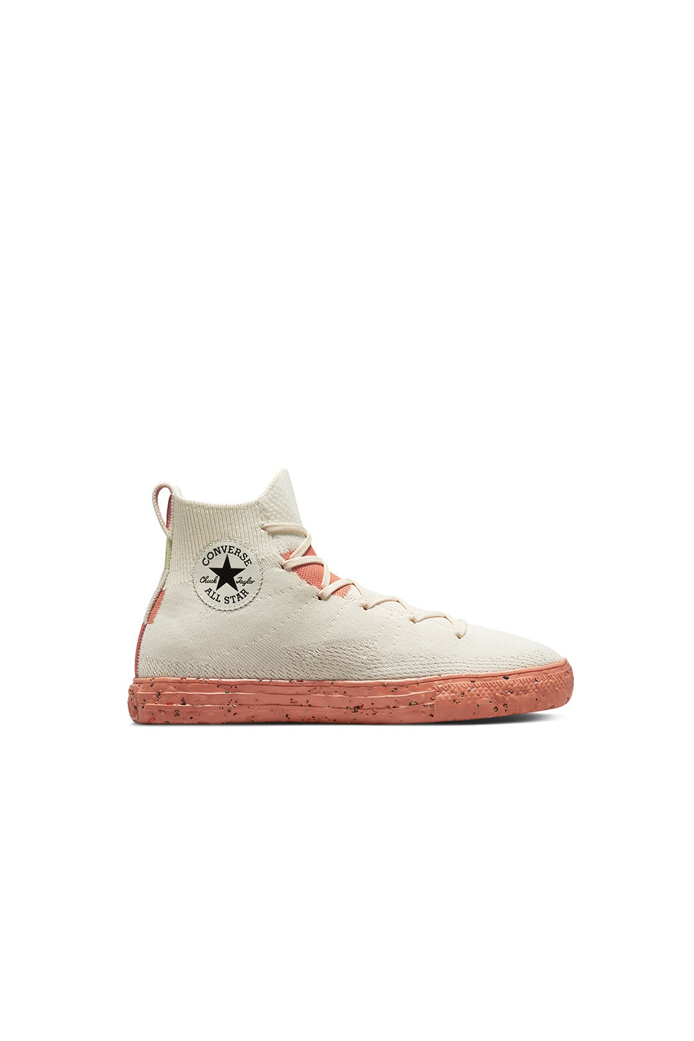 Converse Chuck Taylor All Star Renew Crater Knit High Top Egret