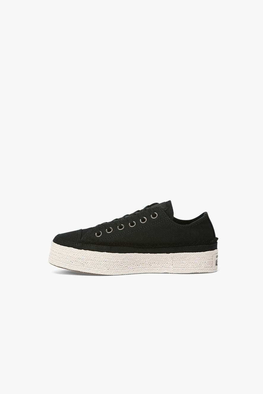 Converse Chuck Taylor Espadrille Low Black/White/Natural